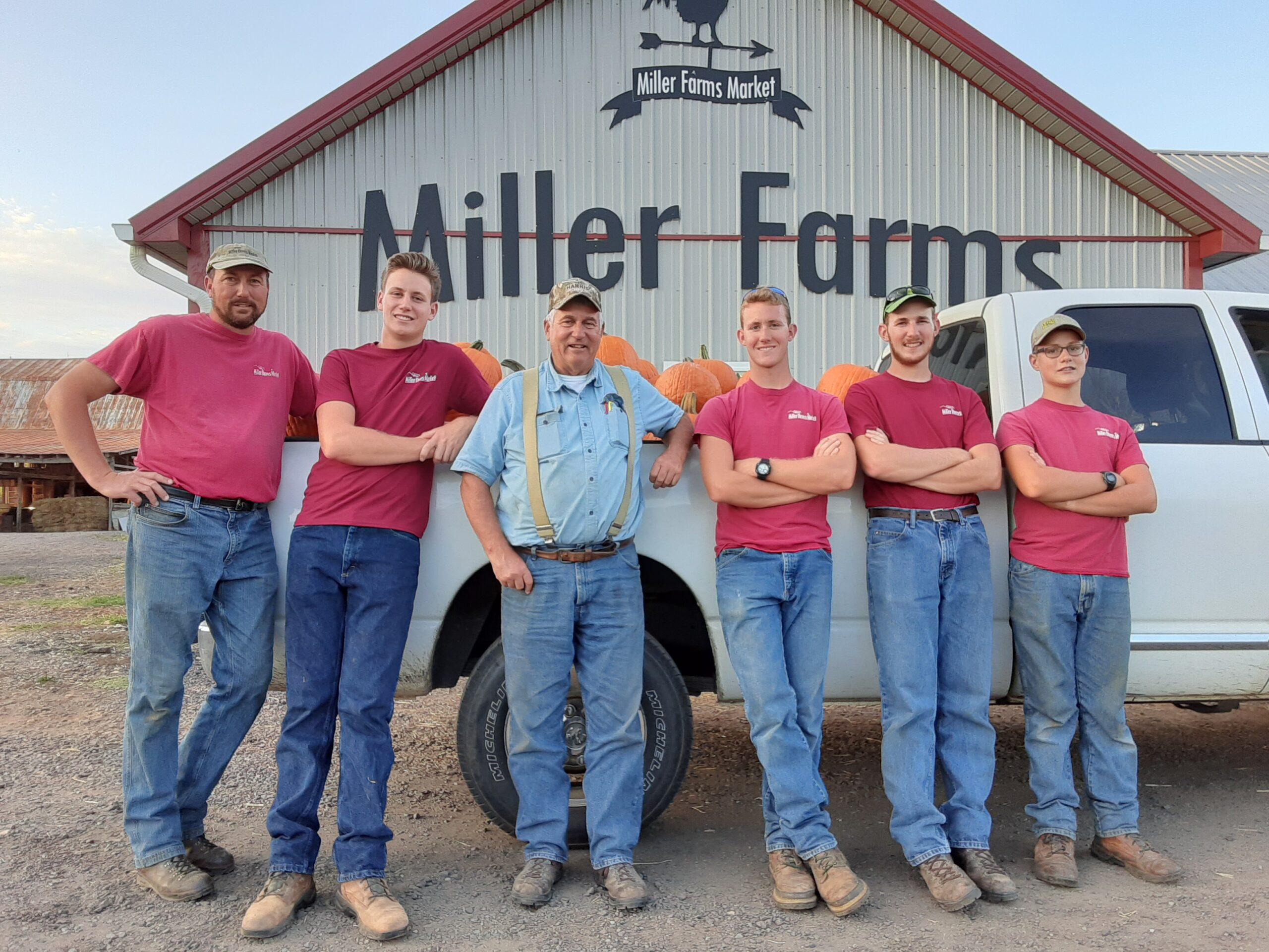 Who's your farmer?  Let Miller Farms be your farmer this year!  Join our CSA and get to know the Millers better!